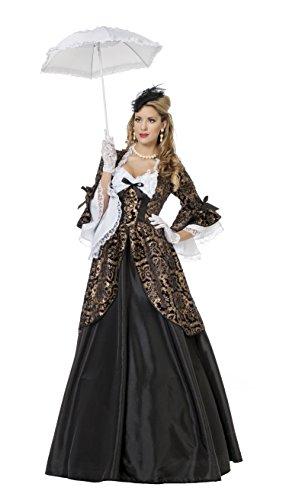 Generique - Barocke Herzogin Kostüm für Damen (Kostüm Panne)