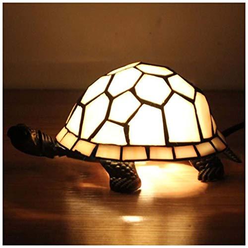 MISS YOU Lampada da tavolo europea di tartaruga bianca lattiginosa - bar/casa dei libri/vetrate del ristorante