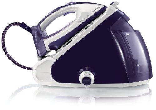 Philips GC9246/02 - Generador de vapor PerfectCare Expert a presión con tecnología OptimalTemp, 6,5 bares, vapor continuo de 120 g/min, supervapor de 340 g, depósito de agua extraíble de 1,5 l, bloqueo de seguridad