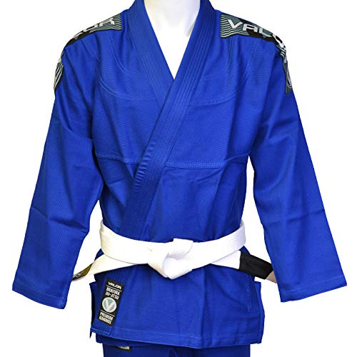 Los kimonos Valor Bravura son de alta calidad para Jiu-Jitsu brasileño, además de ligeros, duraderos y cómodos para entrenar.   La chaqueta está fabricada con algodón perlado de alta calidad, la solapa va engomada y el corte se ha diseñado a medida p...
