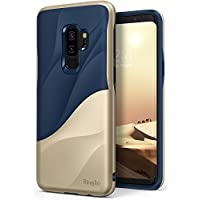 Funda Galaxy S9 Plus, Ringke [WAVE] [Marina Gold] Absorbente de Choque de Doble Capa PC TPU Full-Body Diseño Ergonómico Cubierta Protectora para Samsung Galaxy S9 Plus 2018 Case Cover