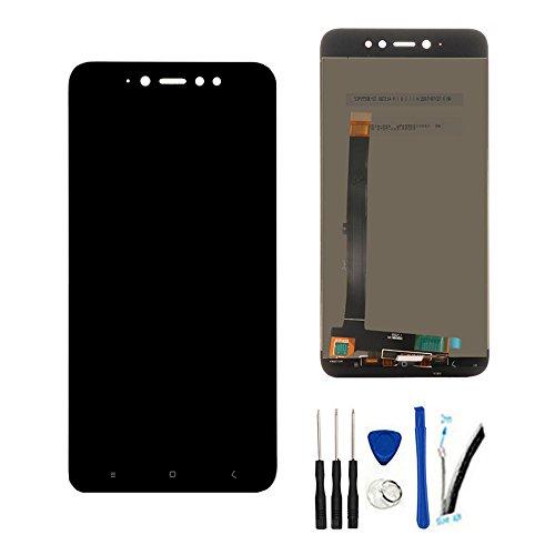 SOMEFUN Completa Pantalla Táctil LCD de Digitalización Asamblea Pantalla de Recambio para Xiaomi Redmi Note 5A Pro/Prime Global Version/Redmi Y1 (3GB RAM/4GB RAM) Negro