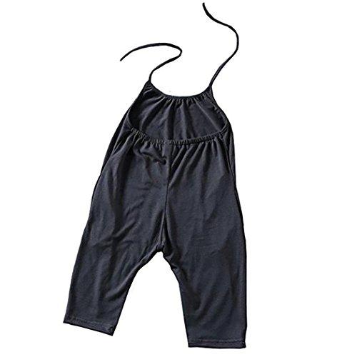 XWB Baby-Mädchen-Bügel-Spielanzug-Overall-Pluderhosen einteilige Hosen-Kleidung (Mädchen Boutique Kleidung Online)