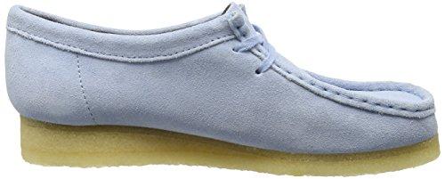 Clarks 261227434, Scarpe Derby Donna Blu (Pastel Blue)