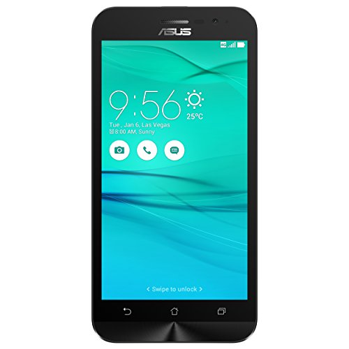 Asus ZenFone Go Smartphone, Display 5'', 16 GB, Dual SIM, Bianco [Italia]