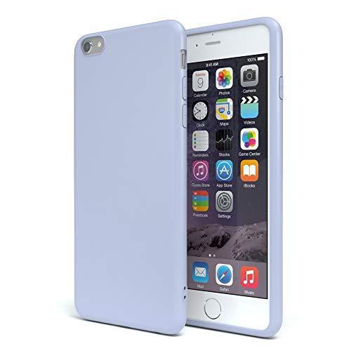 e Silikon mit Kameraschutz für Apple iPhone 6 / 6S in Himmelblau Blau, Ultra dünn, Slimcover, Silikonhülle, Hülle, Softcase, Backcover ()