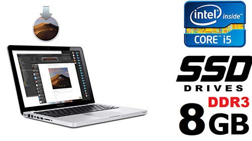 AppleMacBook Pro 9.2?2.5GHz Intel Core i5?4GB DDR3RAM?500GB HDD SATA 13.3Zoll SK Video Intel HD Graphics 4000Mast DVD Tastatur Hintergrundbeleuchtung (Refurbished)