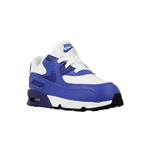 Nike - Air Max 90 Ltr TD - 833416105 - Couleur: Blanc-Bleu - Pointure: 27.0