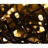 8325067 Idena guirlande lumineuse led d'extérieur 200–cuivre