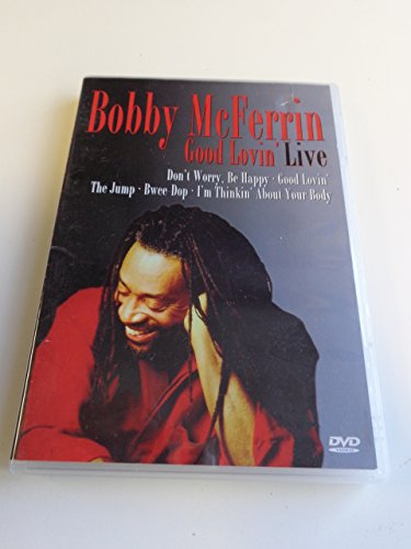 Bobby McFerrin - Good Lovin' Live / Region Free PAL DVD / English Sound / Special Feature: Biography