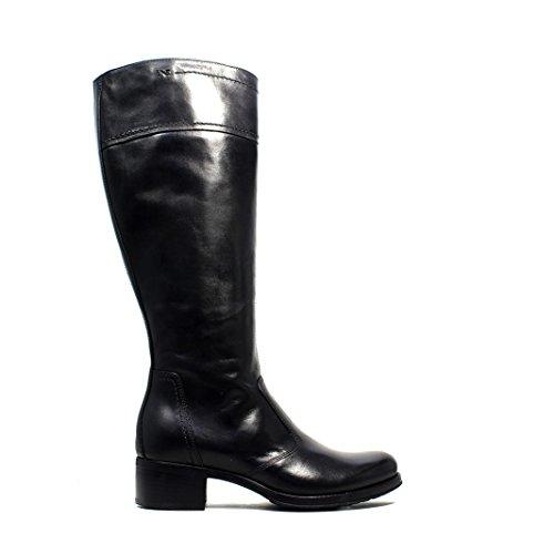 Nero Giardini Low Heel Women Black Boot A616450D 100 collection hiver nouvelle automne 2016 2017