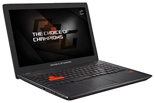 Asus ROG G553VD-DM307T PC portable Gamer 15'' Full HD Noir métal (Intel Core i5, 8 Go de RAM, Disque Dur 1 To + SSD 128 Go, Nvidia GeForce GTX 1050, Windows 10, Garantie 2 ans)