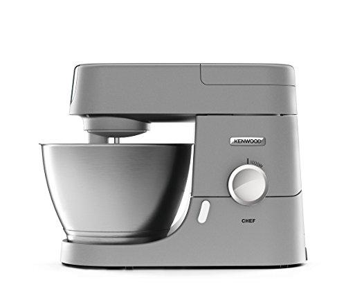 Preisvergleich Produktbild Kenwood Chef KVC 3110S Küchenmaschine | Füllmenge 4,6 L | Inkl. 3-teiliges Patisserie Set | 1,5 L Mixaufsatz | 1.000 Watt | Küchenhelfer mit  3 motorbetriebenen Zubehör Anschlüssen