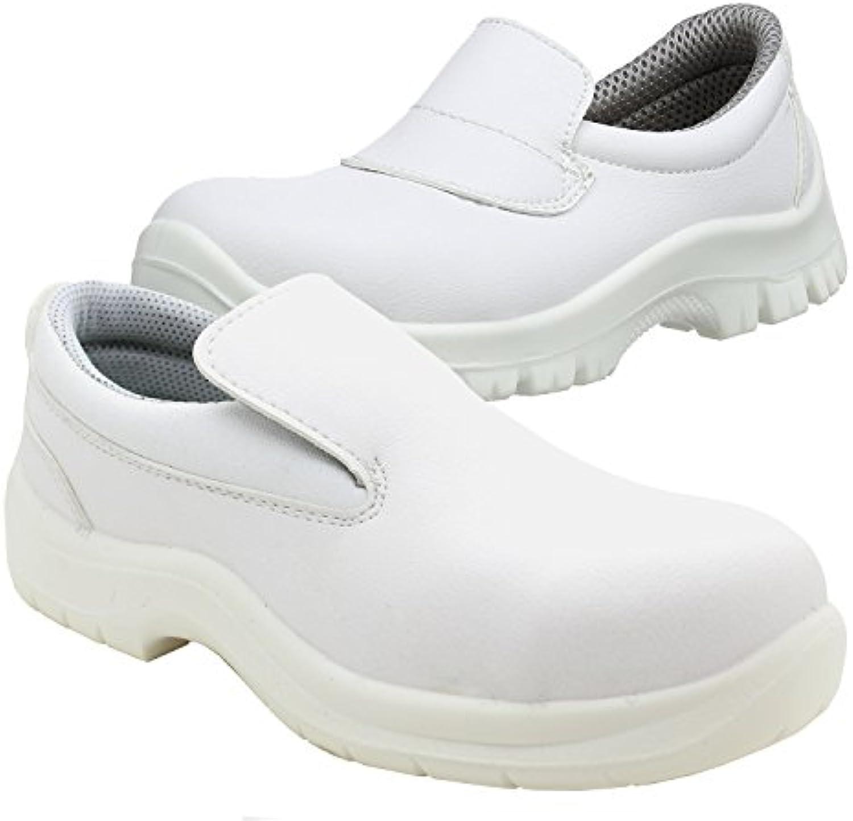 best service 4d0f7 6b896 powcog powcog powcog hygiène sécurité lapsus de chaussure avec embout  d acier.anti bactériens