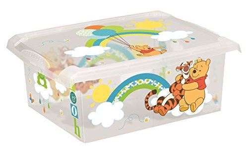 2Cajas para juguetes de Disney Winnie The Pooh, 10l