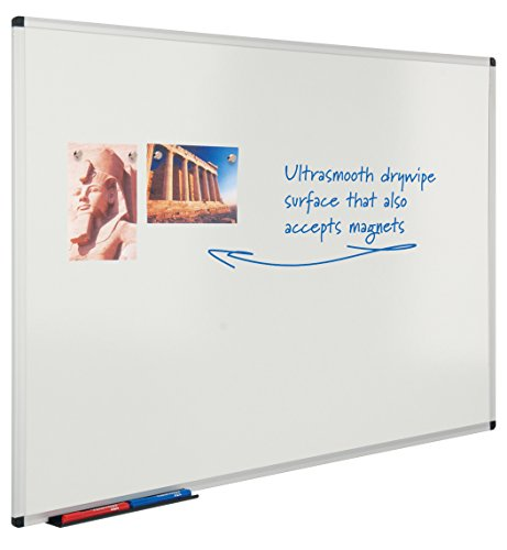 Cheap Metroplan Write-on  magnetic whiteboard – 1200mm x 1800mm Special
