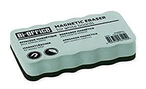 Bi-Office Brosse Effaceur Magnétique Léger, Pour Tableau Blanc, 110 x 55 x 23 mm