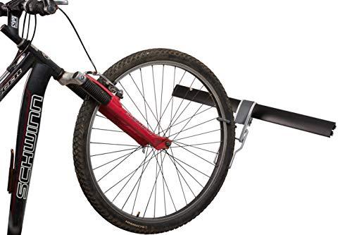 StorageMaid Garage Vertikales Fahrrad-Gepäcksystem - Lagersystem Organisation - aufrechtes Fahrrad, 81,3 cm Schiene und Haken-Kit - pulverbeschichteter rostbeständiger Stahl - 750 lb. Kapazität (Fahrrad Vertical)