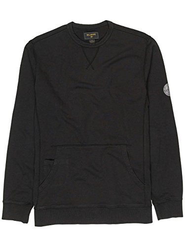 Herren Sweater Billabong Wave Washed Crew Sweater Black