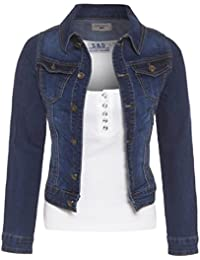 SS7 New Women's Denim Jacket, Mid Blue, Sizes 8 To 14