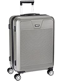 Pronto Vectra Plus ABS 68 cms Grey Suitcases (6477-GY)