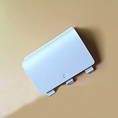 Haodasi White Replacement Battery Door Case Cover for Microsoft Xbox One S Controller from Haodasi Electronics Co., Ltd.