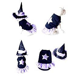 YWSDshop Dog Cosplay Costume Dog Hats for Small Dogs Halloween Party Pet Dog Cat Costumes Clothes Hat Suit