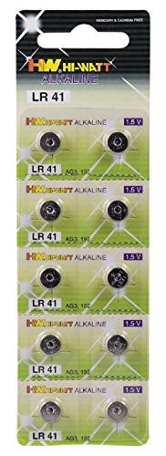 Camelion Alkaline Knopfzelle 1.5V (AG3, LR41, LR736, 392, 10er-Pack, Blister)
