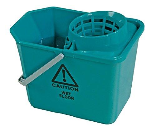 Jantex Mopp-Eimer, Farbkodierung, verschiedene Farben erhältlich, 14 l (16 l maximal), für Bodenreinigung, mit Griff