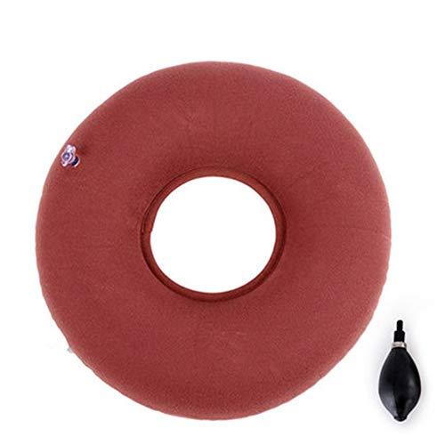 QINAIDI Aufblasbares Doughnut-Kissen für optimalen Sitzkomfort mit Einstellbarer Füllhöhe