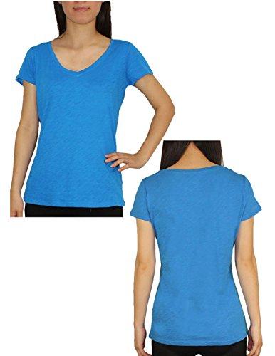 Designer Brand - T-shirt - Femme - Purple & Blue
