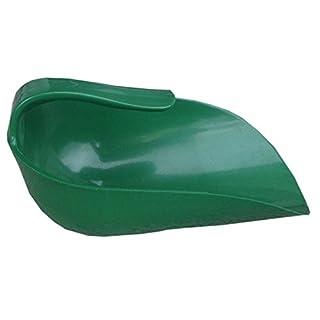 Innenstiel Futterschaufel 1 kg Abwiegeschaufel Sackschaufel aus Kunststoff mit Innengriff