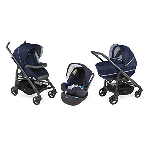 Chicco - Trio Love Up Bebecare, Poussette Combinée 3 en 1,...