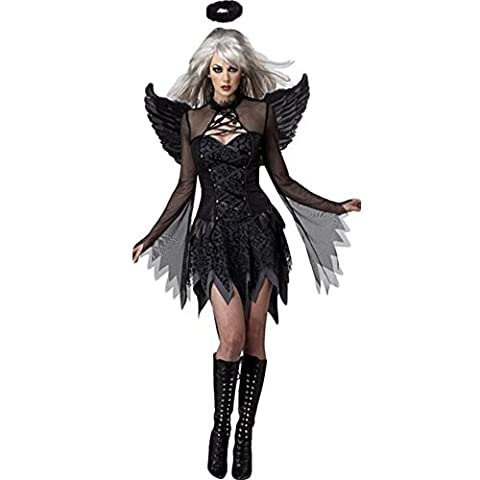 Costour Cospaly des Femmes Filles Rôle Ange Sorcière Cosplay Costume