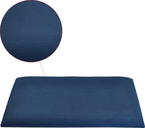 Steinbach VBL-245 Blaue Stoff-Sitzauflage/Sitzpolster für SPB245 - Blau Stoff Sitzpolster