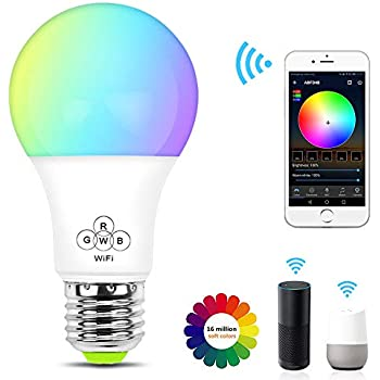 ampoule led intelligente wifi e27 intensit variable et. Black Bedroom Furniture Sets. Home Design Ideas