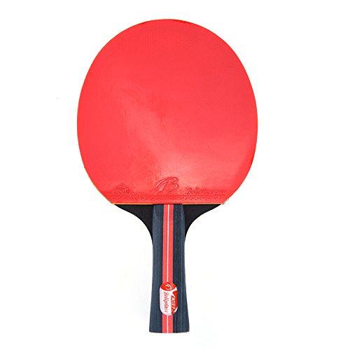 RUNACC Tavolo da Ping-pong Racchetta da Ping Pong Pagaie Tennis Pagaie con 3  palline da tennis e custodia per il Trasporto 5d938b0bd5584