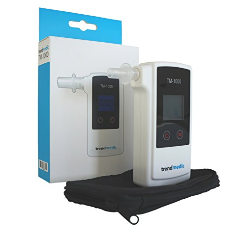 Alkoholtester Trendmedic TM-1000 – Digitaler Atemalkohol-Tester mit elektrochemischen Sensor – polizeigenau – Anzeige in Promille - 3