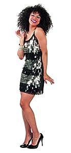 Boland 87408Adultos Vestido con Purpurina Gota, M