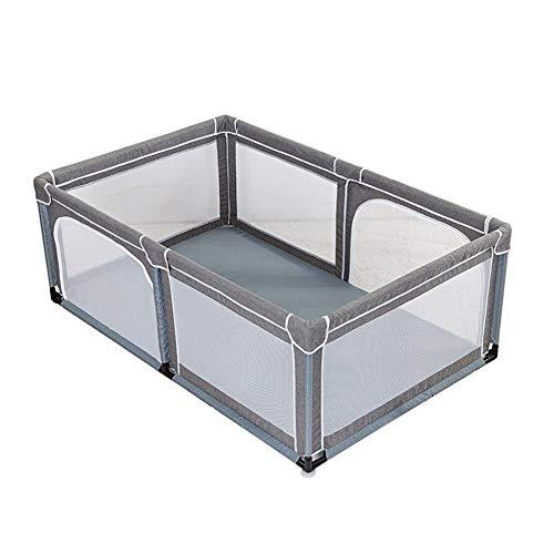 Laufgitter Extra großer Baby-Laufstall, Indoor Outdoor Playard, Tragbarer Schutzzaun für Kleinkinder, × 120 × 150 × 70 cm