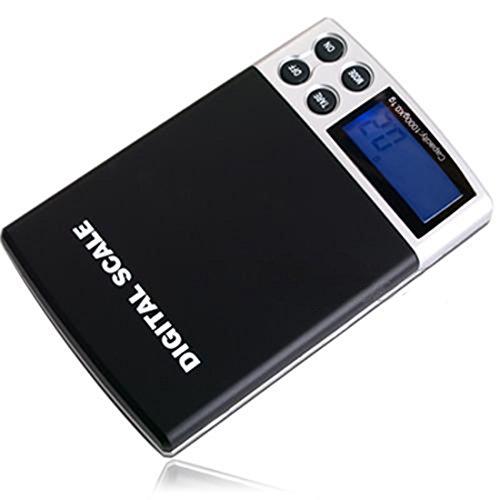 Mini Präzisions elektronische Taschen Digital Skalen 1000g / 0.1g Lcd Anzeigen beweglicher Schmucksache Gramm - 4