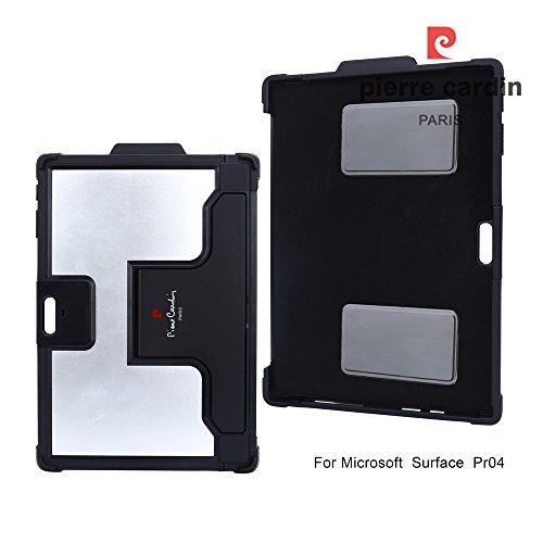 surface-pro-4-case-pierre-cardin-heat-dissipation-antitheft-tpu-multi-functional-smart-shell-kicksta