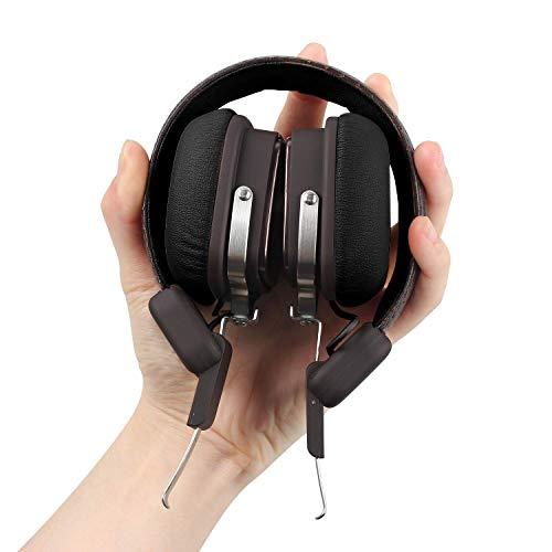 OneOdio Bluetooth Kopfhörer On Ear, 30 Stunden Spielzeit mit eingebaute Mikron und Klarem Bass, Drahtlose Faltbare Bluetooth Headset für Alle Geräte mit Bluetooth (Lg-bluetooth-kopfhörer-clips)