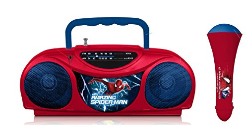 Spiderman Radio Karaoke Kits, 16348
