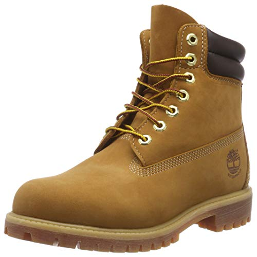 Timberland 6 inch Double Collar, Stivali Uomo, Marrone (Brown Nubuck), 46 EU