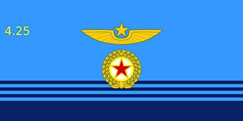 magflags-bandera-large-korean-people-s-air-force-v-w-korean-people-s-air-force-90x150cm