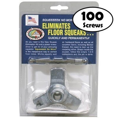 oberry-squeak-no-more-kit-stops-floor-squeaks-from-above-the-floor-additional-50-screws-100-total
