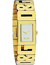 D&G Dolce&Gabbana Damen-Armbanduhr SHOUT 4 LOGOS LDY IPG SILVER DIAL BRC DW0290