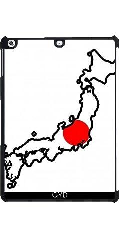 Coque pour Apple Ipad Air - Japon Carte De Drapeau by Cadellin