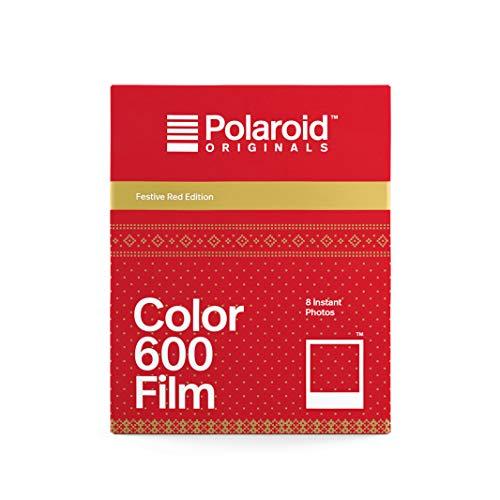 Polaroid Originals - 4931 - Film couleur pour 600 - Édition festive rouge